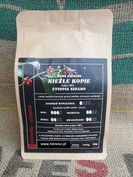 Kawa Dolla ziarnista - Nieźle Kopie ETIOPIA SIDAMO