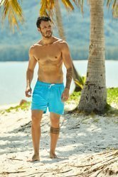 Szorty, kąpielówki męskie Henderson HUE, niebieskie