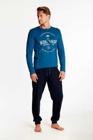 Piżama męska Henderson Owner, niebieska
